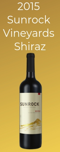 shiraz suggestion for pairing with beef stew