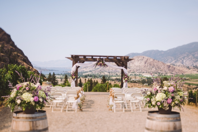 vows with a view at see ya later ranch