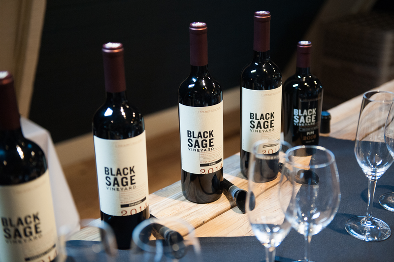 using black sage vineyard wines to learn the art of the bordeaux style blend