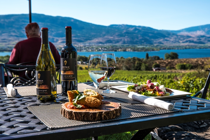 alternative to picnic at a winery nk'mip cellars osoyoos