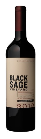 2012 Black Sage Vineyard Cabernet Franc