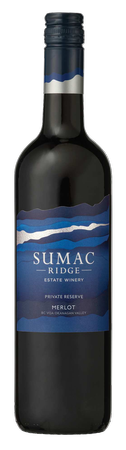 2017 Sumac Ridge Private Reserve Merlot
