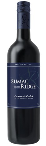 2012 Sumac Ridge Private Reserve Cabernet Merlot