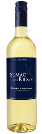 2016 Sumac Ridge Private Reserve Unoaked Chardonnay