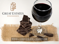 Wine + Chocolate = Happiness