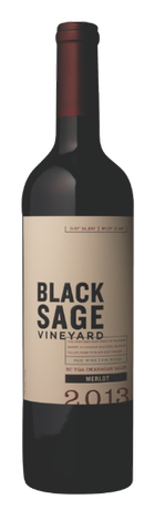 2013 Black Sage Vineyard Merlot
