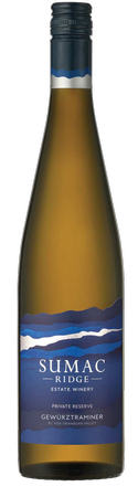 Sumac Ridge Cellar Select Gewurztraminer 12 BOTTLE CASE