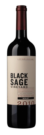 Black Sage Vineyard 2010 Merlot