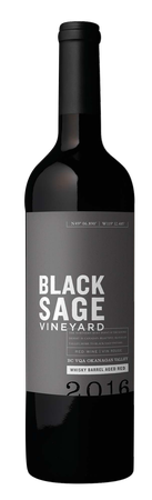 2016 Black Sage Vineyard Whisky Barrel Aged Red