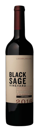 2016 Black Sage Vineyard Zinfandel