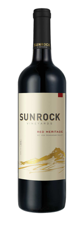 2017 Sunrock Vineyards Red Meritage