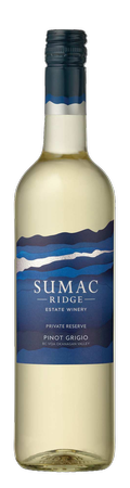2019 Sumac Ridge Private Reserve Pinot Grigio