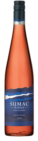 2019 Sumac Ridge Private Reserve Rose