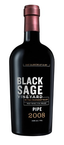 2008 Black Sage Vineyard Pipe 500mL