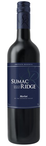 2012 Sumac Ridge Private Reserve Merlot