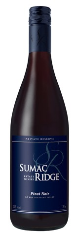 2013 Sumac Ridge Private Reserve Pinot Noir