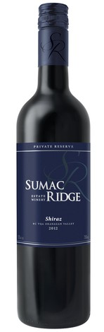 2013 Sumac Ridge Private Reserve Shiraz