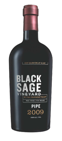 2010 Black Sage Vineyard Pipe 500mL