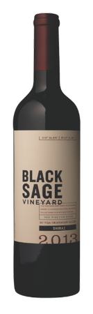 2013 Black Sage Vineyard Shiraz