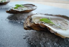 Fresh Shucked Oysters With Icewine Mignonette