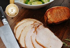 Roasted Herb Brined Pork Loin