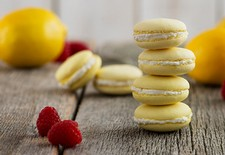 French Macarons with Goat Cheese Filling